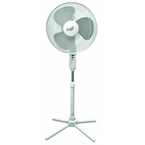 Picture of COMFORT ZONE-Pedestal Fan - (White)