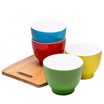 Picture of BRUNTMOR-Everyday Ceramic Bowls - (Multicolor) (Set of 4)