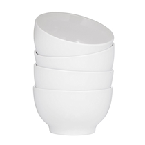Picture of BRUNTMOR-Everyday Ceramic Bowls - (White) (Set of 4)