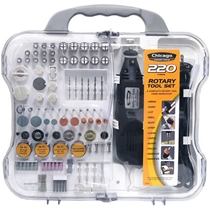 Picture of ALLIED TOOLS-Chicago Power Tools Rotary Tool Set - (220 Piece)