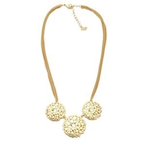 Picture of ABS BY ALLEN SCHWARTZ-Floral Inspired Necklace