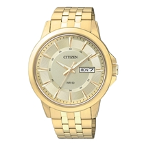 Picture of CITIZEN-Mens Goldtone Bracelet Watch - (Stainless Steel)