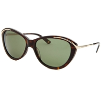 Picture of ANNE KLEIN-Womens Cat-Eye Fashion Sunglasses - (Tortoise and Burgundy)