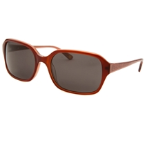 Picture of ANNE KLEIN-Womens Rectangle Sunglasses - (Burgundy)