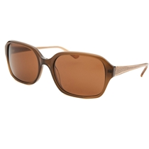 Picture of ANNE KLEIN-Womens Rectangle Sunglasses - (Brown)