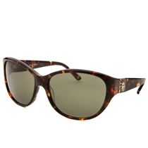 Picture of ANNE KLEIN-Womens Round Sunglasses - (Tortoise)