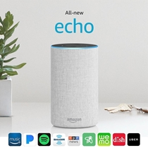 Picture of AMAZON-Echo 2nd Generation - (Sandstone)