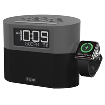 Picture of IHOME-Bluetooth Dual FM Alarm Clock Radio with Apple Watch Charging