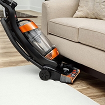 Picture of BISSELL-Clean View Lightweight Upright Vacuum with OnePass Technology - (Samba Orange Black)