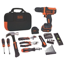Picture of BLACK+DECKER-12 Volt Lithium Drill and Project Kit