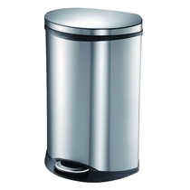 Picture of HOUSEHOLD ESSENTIALS-Stainless Steel 13 Gal Trashcan