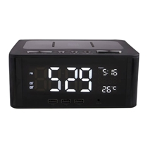 Picture of ALTEC LANSING-Bluetooth Clock Radio with Alarm and USB Power Station