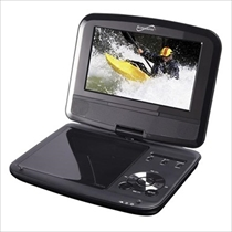 Picture of SUPERSONIC-7 - Inch Portable DVD Player with TV Turner