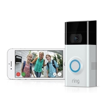 Picture of RING-Video Doorbell 2 - (Satin Nickel)