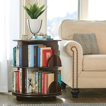 Picture of HAMMACHER SCHLEMMER-The Readeers Roattating End Table