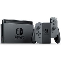 Picture of NINTENDO-Switch with Gray Joy-Con Video Game