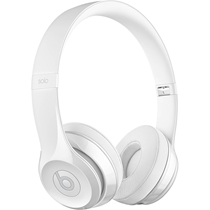 Picture of BEATS-Solo3 On-Ear Wireless Headphones - (Gloss White)