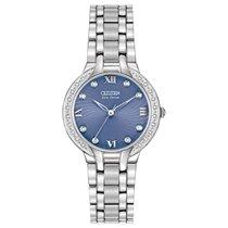 Picture of CITIZEN-Womens Bella Analog Display Silver Casual Watch