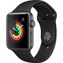 Picture of APPLE-42mm - S3 Watch GPS Only - (Space Gray Case with Black Sport Band)