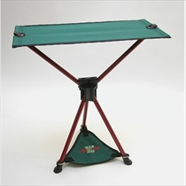 Picture of BYER OF MAINE-Tri-Lite Steel Folding Camping Chair - (Spruce Green and Red)
