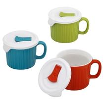 Picture of CORNINGWARE-CorningWare French White Mug Set - (6 Piece)