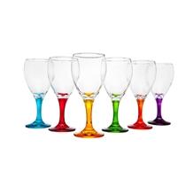 Picture of GODINGER-Multi Color Wine Set - (6 Piece)