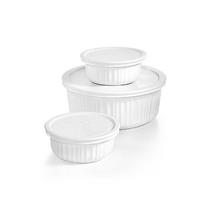 Picture of CORNINGWARE-CorningWare French White Bakeware Set - (6 Piece)