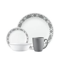 Picture of CORELLE-Livingware™ Modens Dinnerware Set - (16 Piece)
