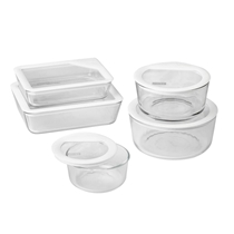 Picture of PYREX-Ultimate Storage Glass Storage Set - (10 Piece)
