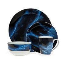 Picture of GODINGER-Carrera Marble Dinnerware Set - (16 Piece)