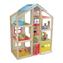 Picture of MELISSA & DOUG-Hi-Rise Wooden Dollhouse