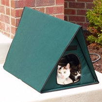 Picture of HAMMACHER SCHLEMMER-The Only Outdoor Heated Multi Cat Shelter