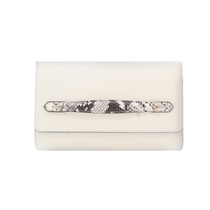 Picture of BCBGMAXAZRIA-Estee Convertible Clutch - (Whitesnake)