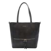 Picture of BCBGMAXAZRIA-Evaline Zip Top Tote - (Black)
