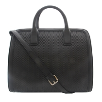 Picture of BCBGMAXAZRIA-Alexis Satchel Zip Top - (Black)