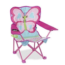 Picture of MELISSA & DOUG-Cute Pie Butterfly Camp Chair
