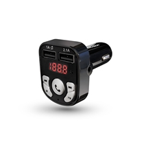 Picture of ARMOR ALL-Bluetooth FM Transmitter and Car Charger - (Black)