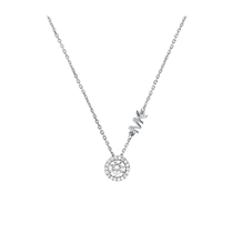 Picture of MICHAEL KORS-CZ Pendant Necklace - (Sterling Silver)