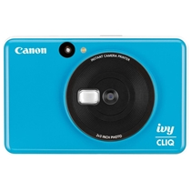 Picture of CANON-IVY Cliq Instant Film Camera - (Seaside Blue)