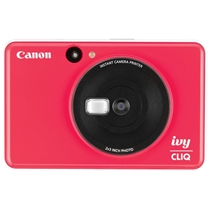 Picture of CANON-IVY Cliq Instant Film Camera - (Ladybug Red)