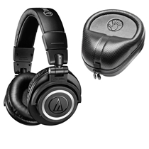 Picture of AUDIO TECHNICA-Wireless Over-Ear Headphones - (Black)