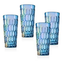 Picture of GODINGER-12 - Ounce Tumblers - (4 Piece) - (Blue)