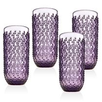 Picture of GODINGER-12 - Ounce Alba Highball Glasses - (Set of 4) - (Amethyst)