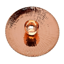 Picture of GODINGER-Copper Finish Chip and Dip Server