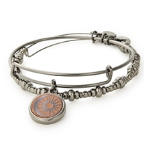 Picture of ALEX AND ANI-Cosmic Balance - (Set Of 2) - (Midnight Silver)