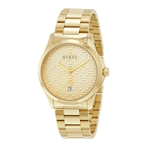 Picture of GUCCI-G-Timeless Dial Quartz Unisex Watch - (Gold Tone)