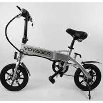 Picture of VOYAGER-Flybrid Compact Electric Bike - (Silver)