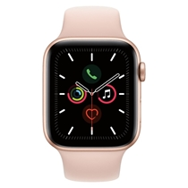 Picture of APPLE-44mm - Series 5 GPS Smart Watch - (Gold Case) - (Pink Sand Band)