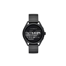 Picture of EMPORIO ARMANI-Touchscreen Smartwatch 3 - (Black Stainless Steel)