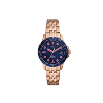 Picture of FOSSIL-Three-Hand Date Stainless Steel Watch - (Rose Gold)